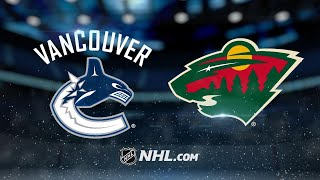 Nilsson, Virtanen help Canucks blank Wild, 1-0