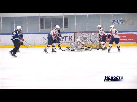 4 команды встретились в Бердске на турнире по хоккею памяти Геннадия Золотухина