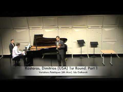 Kostaras, Dimitrios USA 1sr Round Part 1