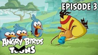 Angry Birds Toons #3 - Oceľový Chuck