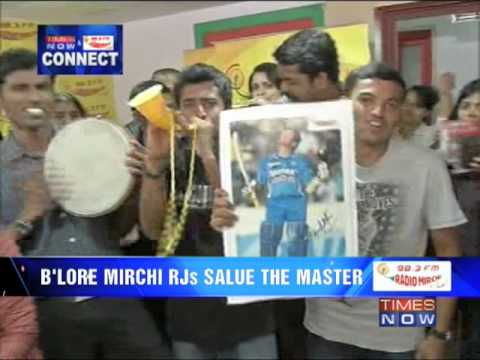 Bangalore Radio Mirchi salutes the master Sachin Tendulkar