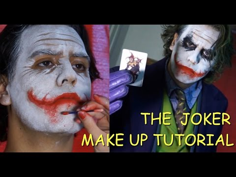 The Joker (Heath Ledger) make up tutorial