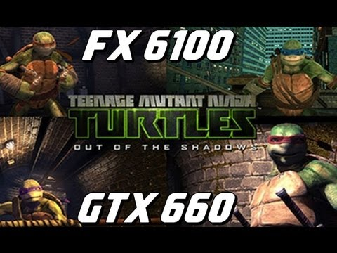 Tartarugas Ninjas 2013 :gameplay Max Settings (fx6100 E Gtx660)