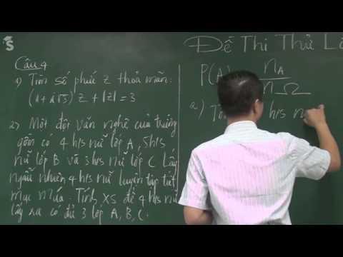 Đề thi thử THPT Quốc Gia - Đề thi thử ĐH môn toán , Đề 1 - năm 2015