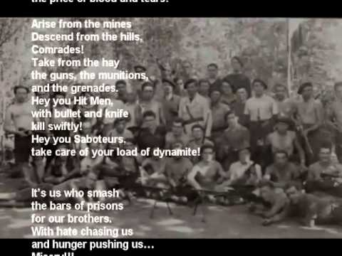 Le Chant Des Partisans (The Partisans' Song)_English Lyrics