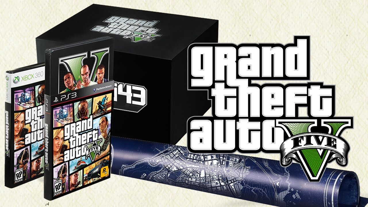 GTA V Collector's Edition Unboxing | N4G