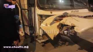مؤثر هكذا تلقت زوجة الشرطي الذي دهسه سائق حافلة مخمور بالبيضاء خبر وفاة زوجها  