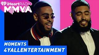 4Yall Entertainment's Jae and Trey Most Buzzworthy International Artist | 2017 iHeartRadio MMVAS