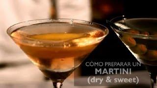 Como Preparar un Martini