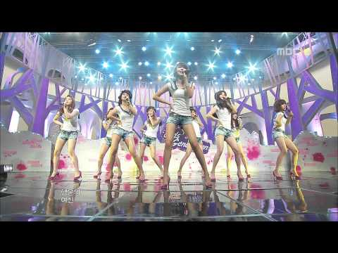 090704 SNSD live Genie at MBC