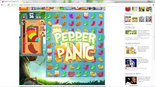 Level 36 With 3 Stars On Pepper Panic Saga