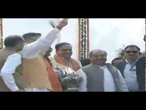 Shri Narendra Modi attends swearing-in ceremony of Dr. Raman Singh at Chhattisgarh