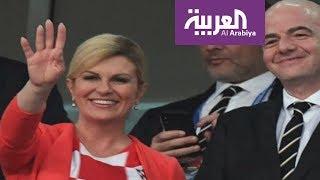 بالفيديو..من الجانب السياسي: الرئيسة الكرواتية الحسناء وجها لوجه مع الرئيس الفرنسي ماكرون قبل نهائي المونديال     |   زووم