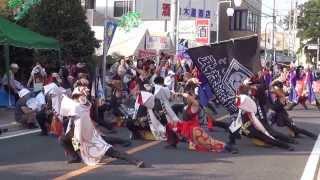 第13回(2013年)坂戸よさこい2日目【元町会場 】ところざわ武蔵瀧嵐