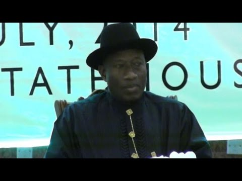 Nigeria president meets relatives of schoolgirls held hostage