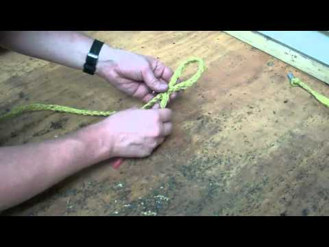 How to Eye Splice a braided or woven multi-strand rope.