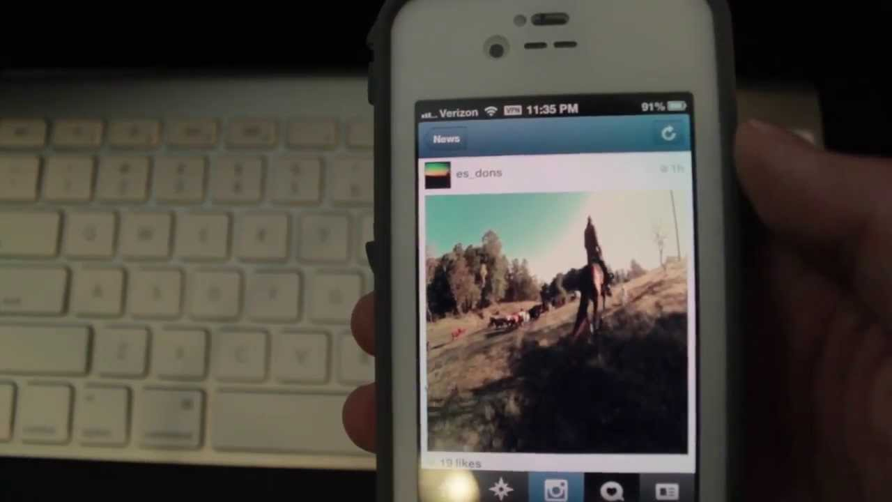 How to upload high quality videos to instagram from iphone