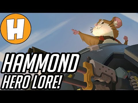 Overwatch - Hammond Lore (Wrecking Ball), Origin Story + Speculation! | Hammeh