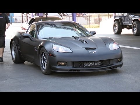 8 Second Supercharged Corvette