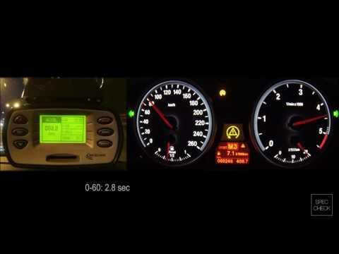 BMW 535d E60 stage2 0-100, 0-150, 0-200 racelogic acceleration, 402m