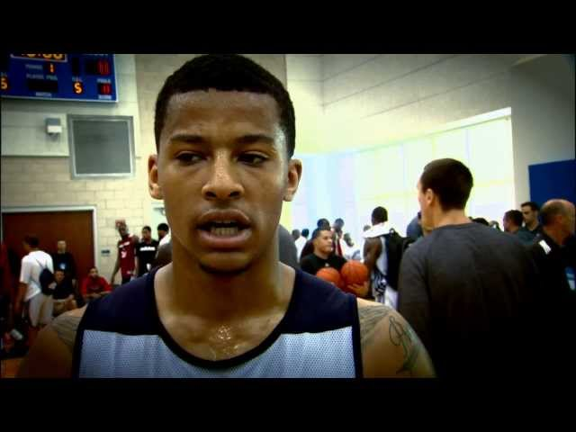 NBA Rooks: Trey Burke at Orlando Summer League