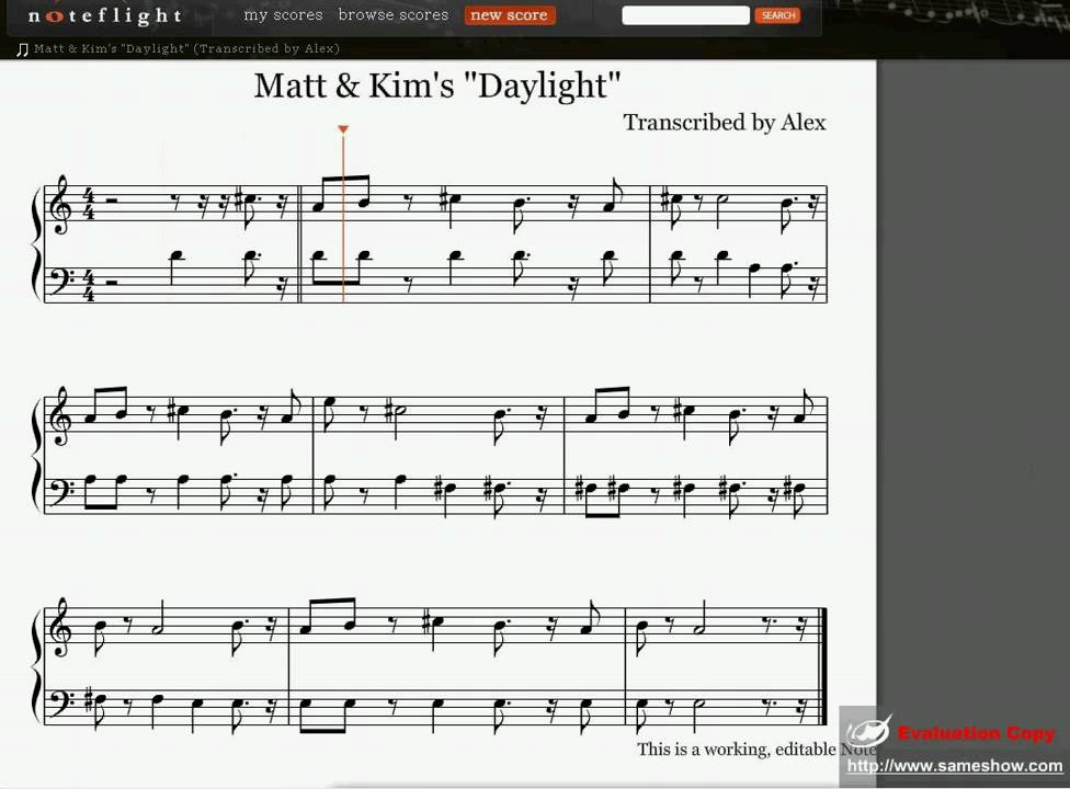 Matt And Kim Daylight Mp3