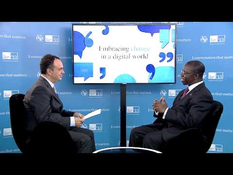 Brahima Sanou, Director, BDT, ITU - Interview, ITU Telecom World 2013