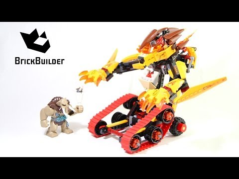 Lego Chima 70144 Laval's Fire Lion - Lego Speed build