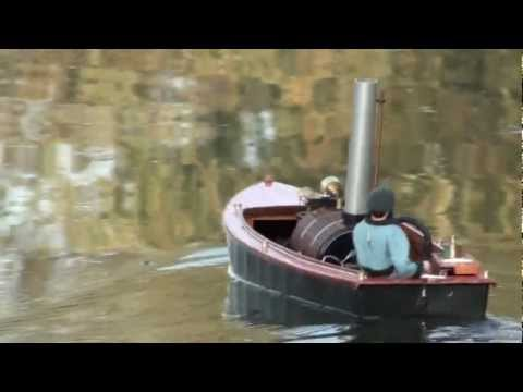 Live Steam powered model boat 'Sunset'