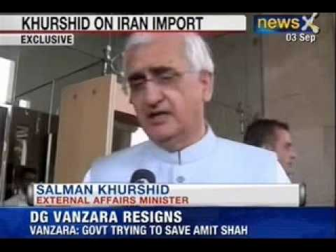 NewsX : Economic Crisis May Prompt India To Restart Iran Oil Import - Salman Khurshid
