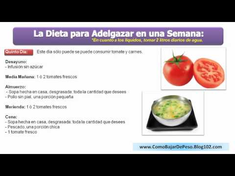 dieta de licuados para bajar de peso rapido