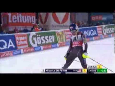 Slalom Flachau 2014 | Mikaela Shiffrin | Run 2