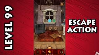 Escape Action Level 99 Solution/Walkthrough Android