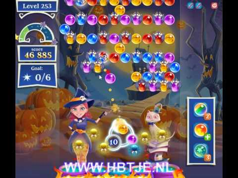 Bubble Witch Saga 2 level 253