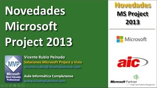 Novedades Microsoft Project 2013