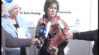LBCI News-كونيللي تلتقي عائلات سورية نازحة في بيروت