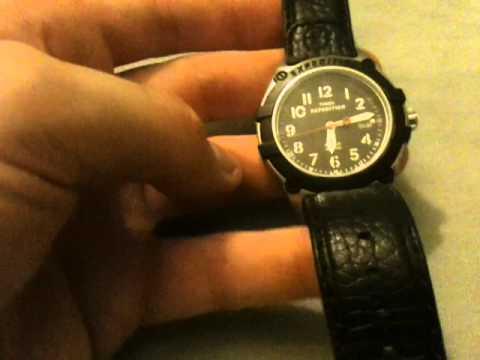 Timex Black Rugged Field Metal T49806 Youtube