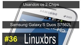 Samsung Galaxy S Duos GT S7562 Usando Os 2 Chips PT