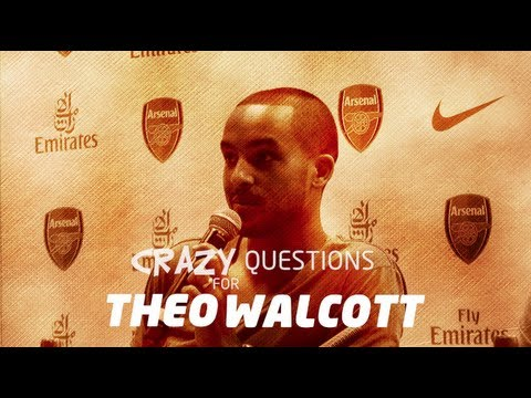 Crazy Questions For Theo Walcott -- MATCH