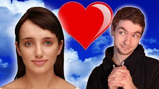 Cleverbot Evie | READING CHEESY CHAT UP LINES | Evie wants the D