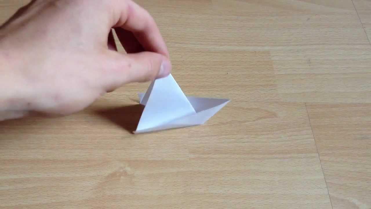 origami segelboot selber machen anleitung zum falten. Black Bedroom Furniture Sets. Home Design Ideas