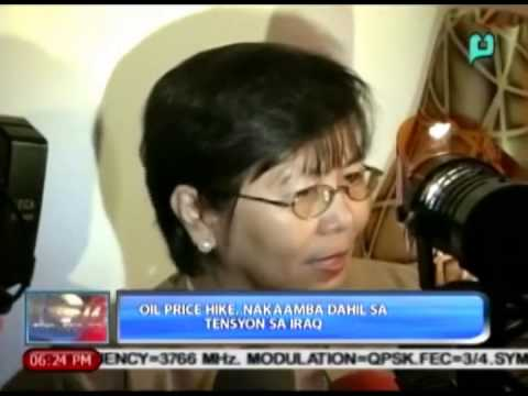 [The Weekend News] Oil price hike, nakaamba dahil sa tensyon sa Iraq [06|21|14]