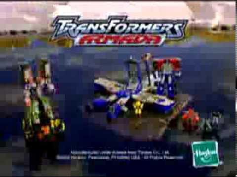 Transformers Armada Optimus Prime Commercial