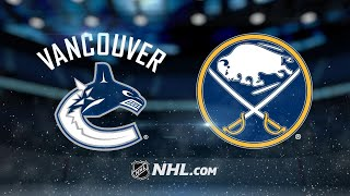 Dorsett, Canucks defeat Sabres, 4-2