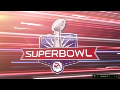 NFL Super Bowl XLVIII - Denver Broncos vs Seattle Seahawks - 2nd Qrt - Madden NFL 25 - HD