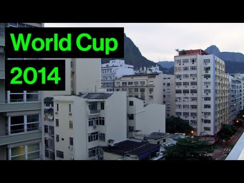 Incredible Sound Of Rio When Brazil Score In World Cup | Brazil 4-1 Cameroon