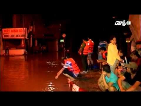 VTC14_Bình Dương: Hàng trăm nhà dân bị ngập sâu trong nước