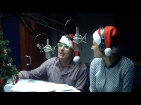 Mario y Geraldine programa especial navideño