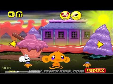 Chú khỉ buồn 14: Lễ phục sinh - Monkey Go Happy Easter