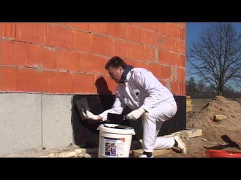 Hidroizoliacija. Pamatų ir betoninių paviršių sandarinimas.